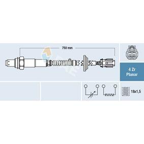 Lambdasonde Kabellänge: 750mm mit OEM-Nummer 39210-2E500