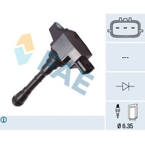 Ignition Coil 80450 Clio 4 (BH_) 1.6 RS MY 2020