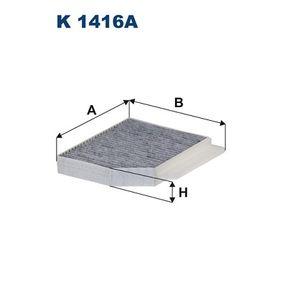Filter, Innenraumluft Art. Nr. K 1416A 120,00€