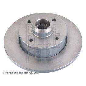 Bremsscheibe Bremsscheibendicke: 10mm, Lochanzahl: 4, Ø: 226,0mm mit OEM-Nummer 6N0615601