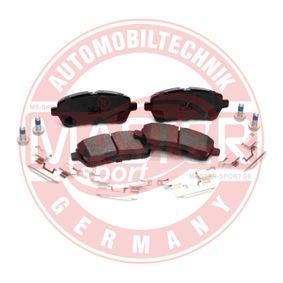 Brake Pad Set, disc brake 13046026052N-SET-MS FIESTA 6 1.6 Ti MY 2021