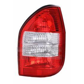 Opel Zafira f75 1.8 16V (F75) Heckleuchte TYC 11-0114-11-2 (1.8 16V (F75) Benzin 2000 X 18 XE1)