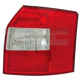 TYC Heckleuchte 11-0354-01-2 für AUDI A4 Avant (8E5, B6) 3.0 quattro ab Baujahr 09.2001, 220 PS