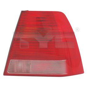 Heckleuchte weiß/rot mit OEM-Nummer 1J5945096AB