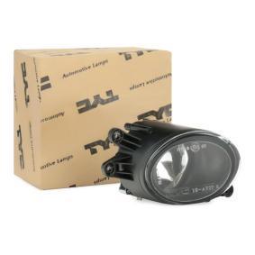 TYC Nebelscheinwerfer 19-0227-01-2 für AUDI A4 (8E2, B6) 1.9 TDI ab Baujahr 11.2000, 130 PS