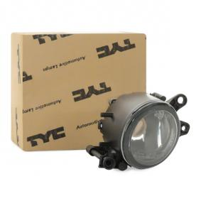 TYC Nebelscheinwerfer 19-0228-01-2 für AUDI A4 (8E2, B6) 1.9 TDI ab Baujahr 11.2000, 130 PS