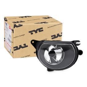 TYC Nebelscheinwerfer 19-0253001 für AUDI A3 (8P1) 1.9 TDI ab Baujahr 05.2003, 105 PS
