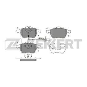 Bremsbelagsatz, Scheibenbremse Breite: 74mm, Dicke/Stärke: 19,4mm mit OEM-Nummer 1 143 349