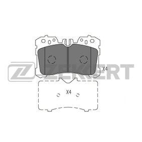 Bremsbelagsatz, Scheibenbremse Breite: 87,7mm, Dicke/Stärke: 18,3mm mit OEM-Nummer 044650W110