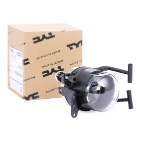 TYC Nebelscheinwerfer 19-5712-01-9 für BMW 5 (E60) 530 xi ab Baujahr 01.2007, 272 PS