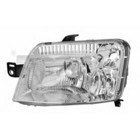 Headlight 20-0336-15-2 PANDA (169) 1.2 MY 2014