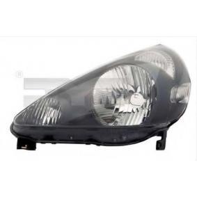 TYC  20-0444-05-2 Hauptscheinwerfer für Fahrzeuge mit Leuchtweiteregelung (elektrisch)