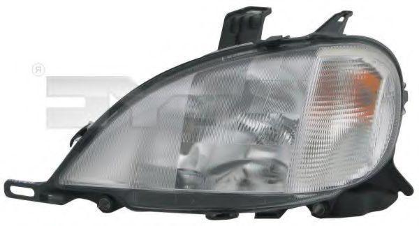 TYC  20-0494-05-2 Hauptscheinwerfer für Fahrzeuge mit Leuchtweiteregelung (elektrisch), für Rechtsverkehr