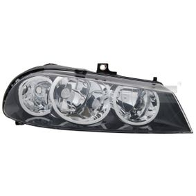 TYC Headlight 20-0743-05-2 with OEM Number 60695647