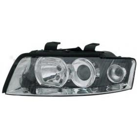 Headlight for vehicles with headlamp levelling (electric), for right-hand traffic with OEM Number 8E0941003AQ