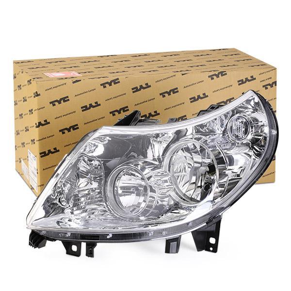 TYC Headlight 20-11334-05-2