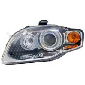 Headlight for vehicles with headlamp levelling (electric), for vehicles with Xenon light, for right-hand traffic with OEM Number 8E0941003AM