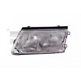 TYC  20-1144-05-2 Главен фар за автомобили с регулиране на светлините (електрическо), за дясно движение