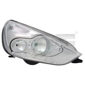 TYC  20-11503-05-2 Hauptscheinwerfer für Fahrzeuge mit Leuchtweiteregelung (elektrisch), für Rechtsverkehr
