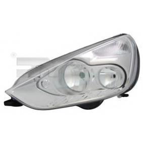 TYC  20-11504-05-2 Hauptscheinwerfer für Fahrzeuge mit Leuchtweiteregelung (elektrisch), für Rechtsverkehr