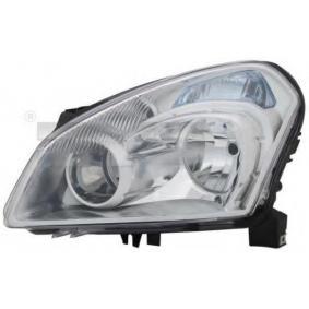 2010 Nissan Qashqai j10 1.6 Headlight 20-11572-05-2