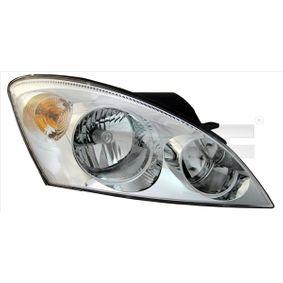 Hauptscheinwerfer für Fahrzeuge mit Leuchtweiteregelung (elektrisch), für Rechtsverkehr mit OEM-Nummer 92102 1H000