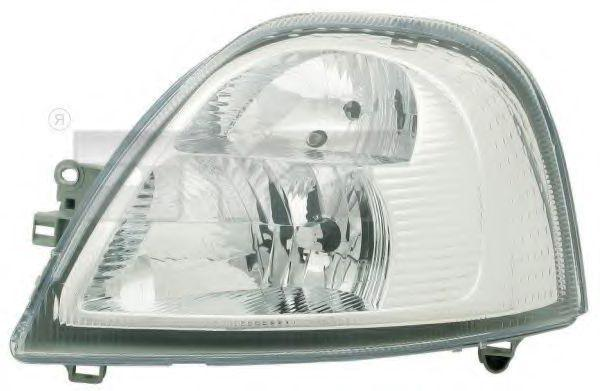 TYC  20-1268-05-2 Hauptscheinwerfer für Fahrzeuge mit Leuchtweiteregelung (elektrisch), für Rechtsverkehr