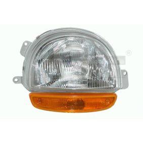 TYC  20-5011-15-2 Hauptscheinwerfer für Fahrzeuge mit Leuchtweiteregelung (elektrisch)