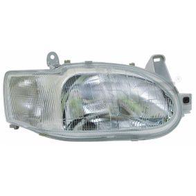 Hauptscheinwerfer für Fahrzeuge mit Leuchtweiteregelung (elektrisch), für Fahrzeuge mit Leuchtweiteregelung (mechanisch) mit OEM-Nummer 1 076 554
