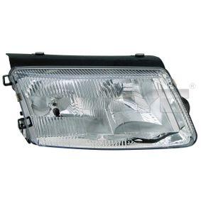 TYC  20-5079-08-2 Hauptscheinwerfer für Fahrzeuge mit Leuchtweiteregelung (elektrisch), für Fahrzeuge mit Leuchtweiteregelung (mechanisch), für Rechtsverkehr