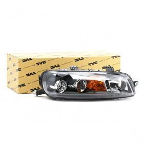 Headlight 20-5957-05-2 PUNTO (188) 1.2 16V 80 MY 2000