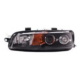 Headlight 20-5958-65-2 PUNTO (188) 1.2 16V 80 MY 2000