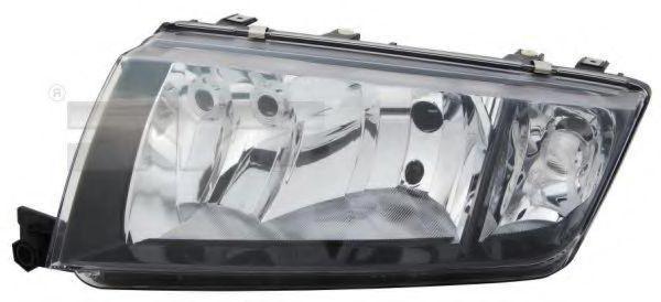 TYC  20-6230-15-2 Hauptscheinwerfer für Fahrzeuge mit Leuchtweiteregelung (elektrisch), für Rechtsverkehr