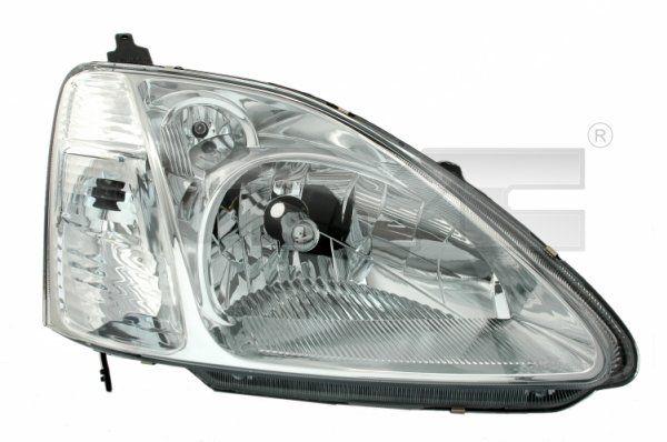 TYC  20-6251-05-2 Hauptscheinwerfer für Fahrzeuge mit Leuchtweiteregelung (elektrisch)