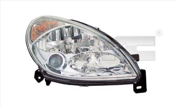 TYC  20-6257-05-2 Hauptscheinwerfer für Fahrzeuge mit Leuchtweiteregelung (elektrisch), für Rechtsverkehr