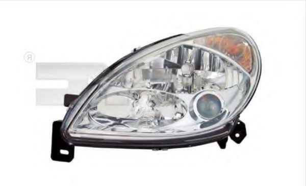 TYC  20-6258-05-2 Hauptscheinwerfer für Fahrzeuge mit Leuchtweiteregelung (elektrisch), für Rechtsverkehr