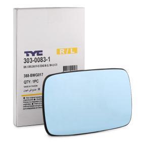 TYC  303-0083-1 Spiegelglas, Außenspiegel