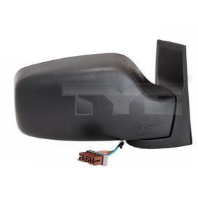 TYC Side view mirror Left, Electronically foldable, Heated, Plan