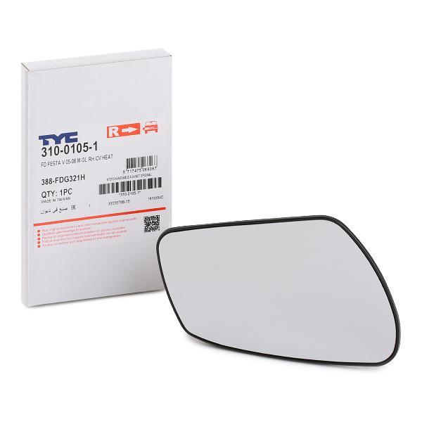 Mirror Glass 310-0105-1 TYC 310-0105-1 original quality