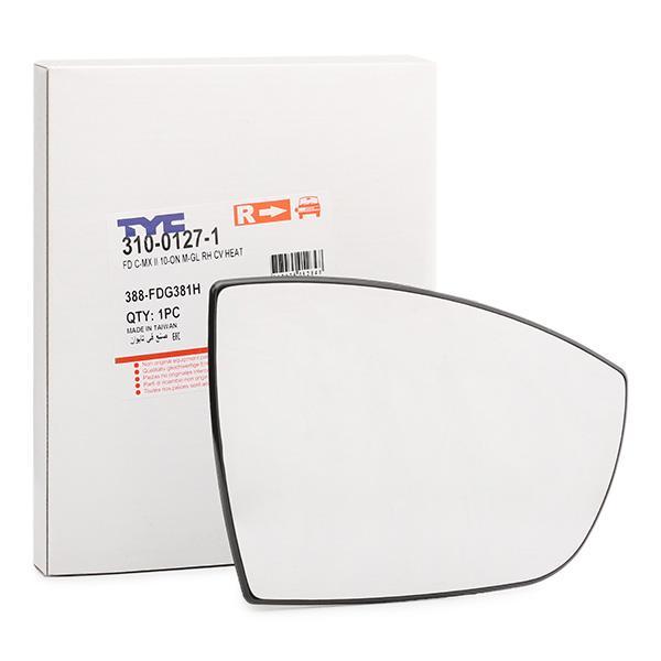 Mirror Glass 310-0127-1 TYC 310-0127-1 original quality