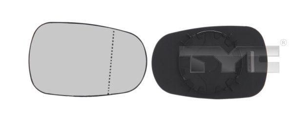 TYC  324-0008-1 Spiegelglas, Außenspiegel