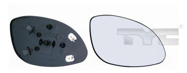 TYC  325-0043-1 Spiegelglas, Außenspiegel