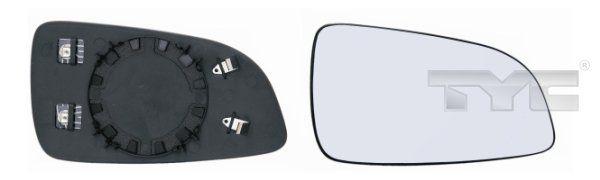 Rückspiegelglas TYC 325-0060-1 2506450217947