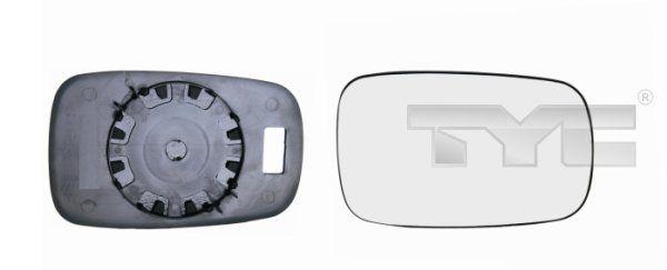 Spiegelglas, Außenspiegel TYC 328-0101-1 8717475039337