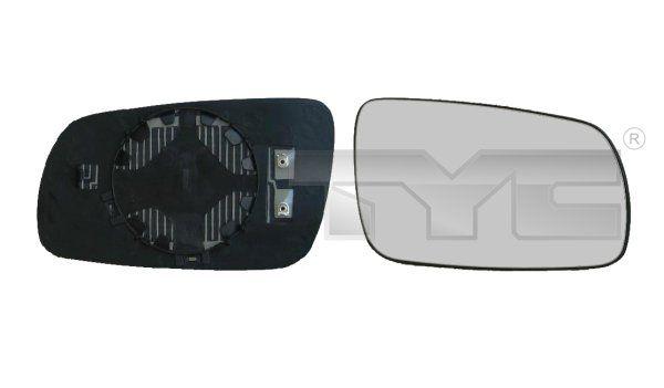 TYC  332-0013-1 Mirror Glass, outside mirror
