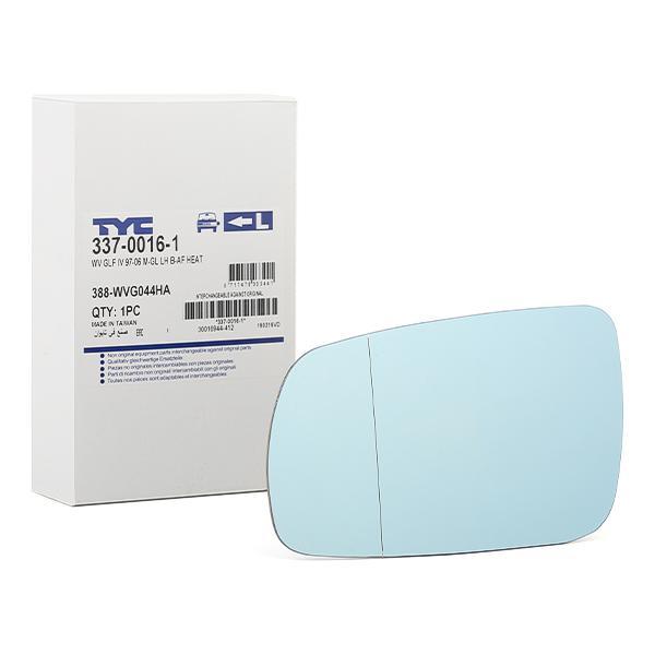 Außenspiegelglas 337-0016-1 TYC 337-0016-1 in Original Qualität