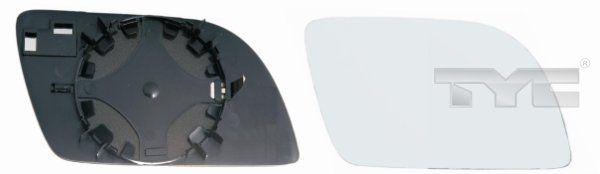 Spiegelglas, Außenspiegel TYC 337-0061-1 8717475033120