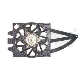 Fan, radiator 809-1016 PANDA (169) 1.2 MY 2010