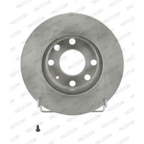 Bremsscheibe Bremsscheibendicke: 20mm, Lochanzahl: 6, Ø: 236mm mit OEM-Nummer 569 014