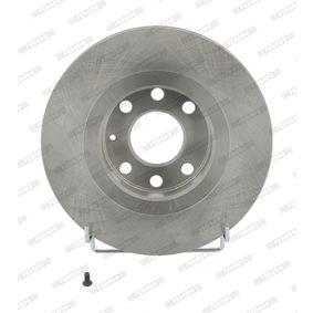 Bremsscheibe Bremsscheibendicke: 24mm, Lochanzahl: 6, Ø: 256mm mit OEM-Nummer 90250546